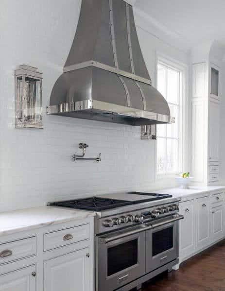 Superb Kitchen Hood Ideas Metal