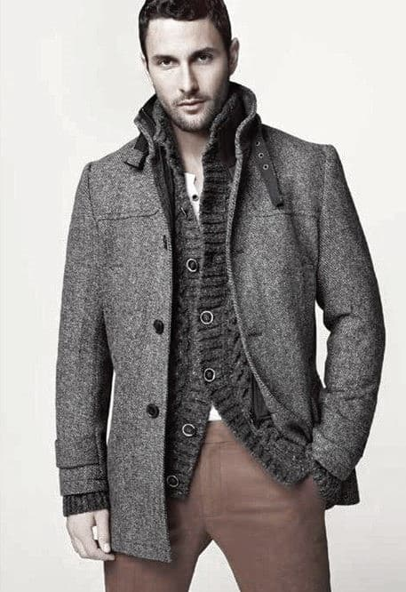 Superb Male Winter Outfits Style Design Ideas