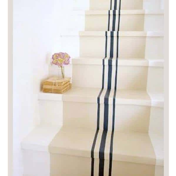 Superb Painted Stairs Ideas Thin Blue Lines