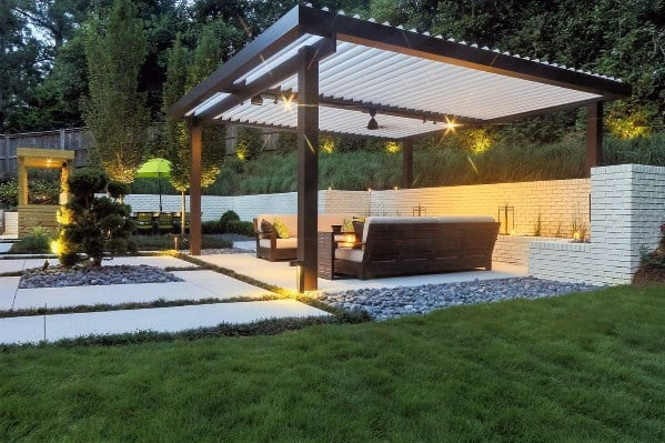 Superb Patio Roof Ideas Metal Steel Construction