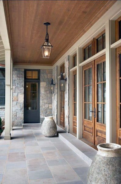Superb Porch Ceiling Ideas Wood