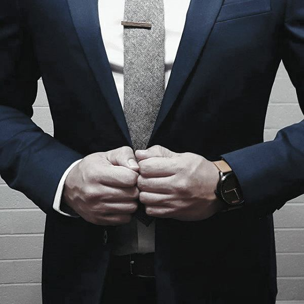 Superb Professional Male Navy Blue Suit Style Design Ideas