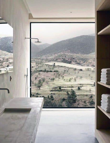 Superb Shower Window Ideas