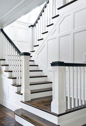 Superb Stair Trim Ideas