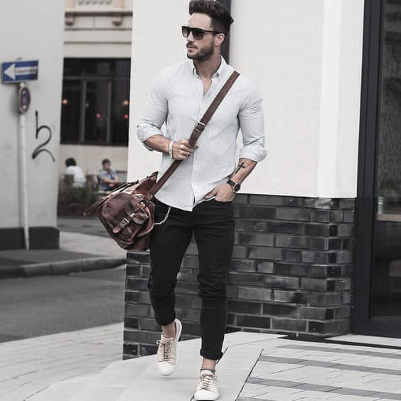 26e8de0b431 Superb What To Wear With Male Black Jeans Outfits Style Design Ideas