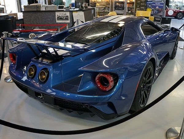 Supercar Ford Gt Rear