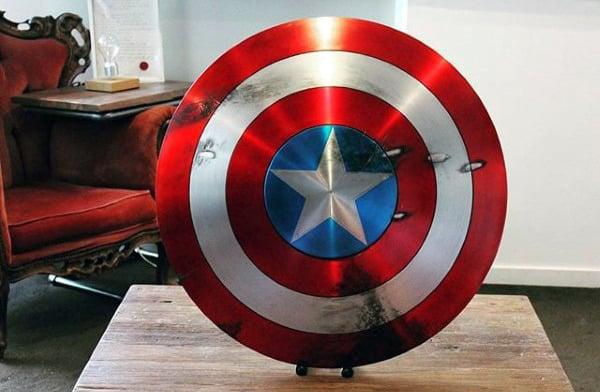 Superhero Shield Man Cave Decor