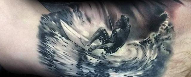 Surf Tattoos For Men