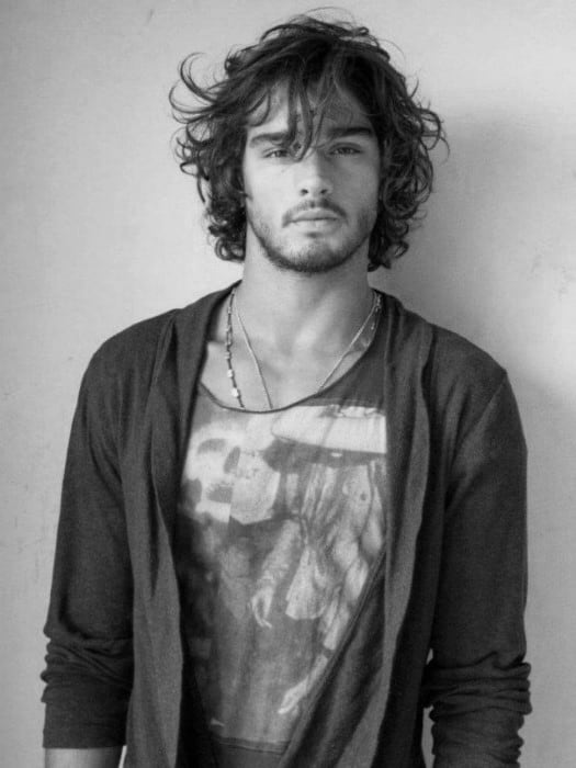 Surfer Style Hair For Guys Wavy Medium
