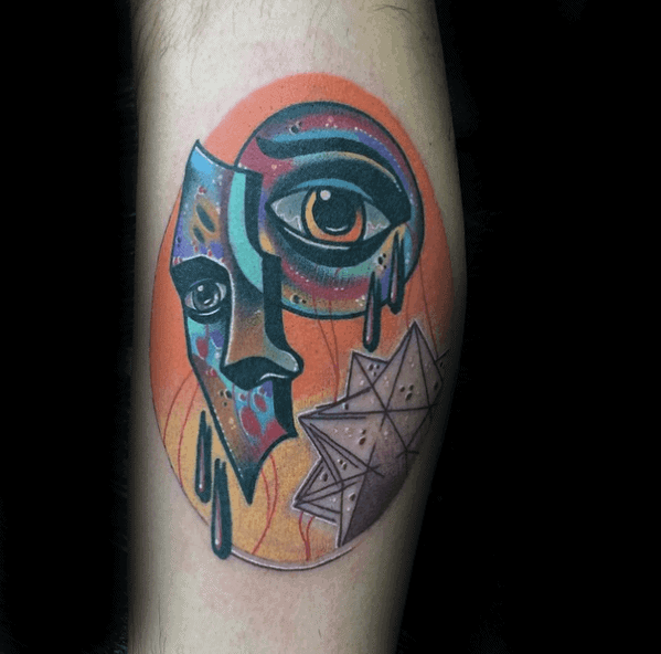 Surrealism Guys Tattoos