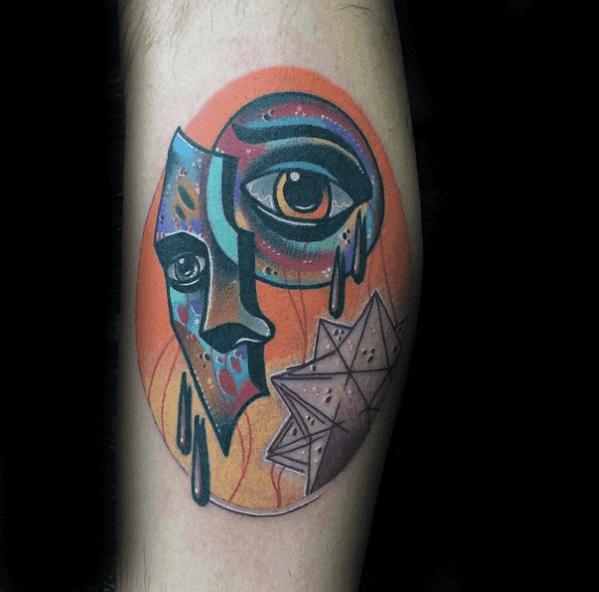 Surrealism Guys Tattoos