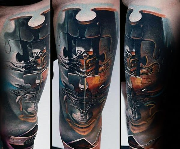 Surrealism Tattoo Ideas For Males