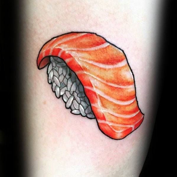 Sushi Mens Small Arm Tattoo Designs