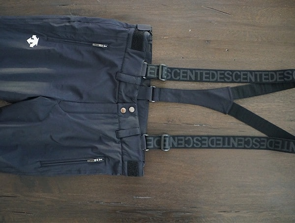 Suspenders Descente Swiss Ski Team Pant For Men
