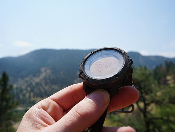 Suunto Traverse Alpha Watch Altimeter