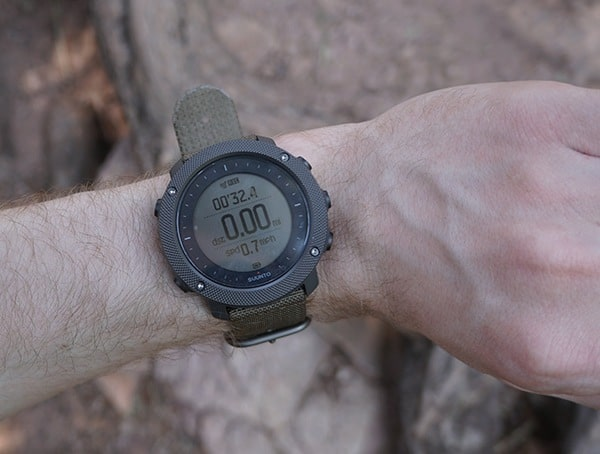 Suunto Traverse Alpha Watch Reviews Hiking Distance Display