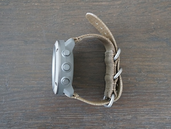 Suunto Traverse Alpha Watch Side Buttons Detail