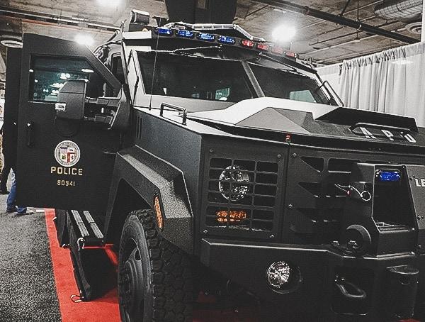 Swat Police Bulletproof Truck