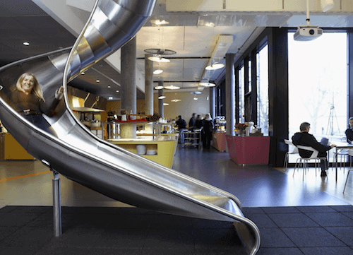Sweet Indoor Office Slides