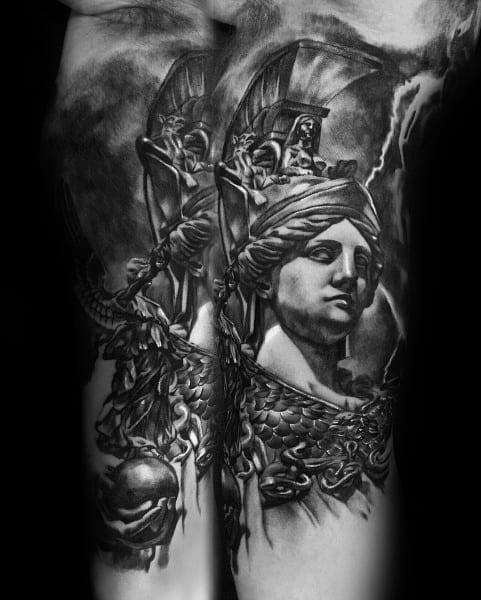 Sweet Mens Athena Tattoo Ideas