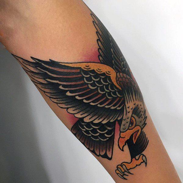 Sweet Mens Badass Eagle Tattoo Ideas