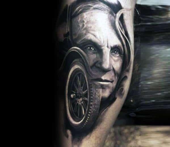 Sweet Mens Ford Tattoo Ideas