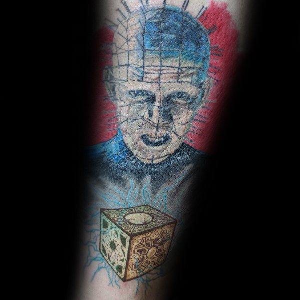 Sweet Mens Hellraiser Tattoo Ideas