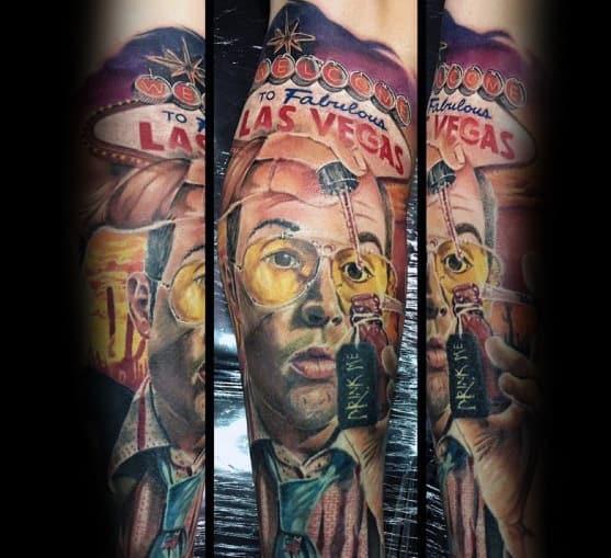 Sweet Mens Hunter S Thompson Tattoo Ideas