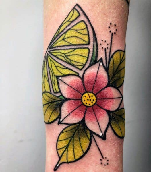 Sweet Mens Lime Tattoo Ideas