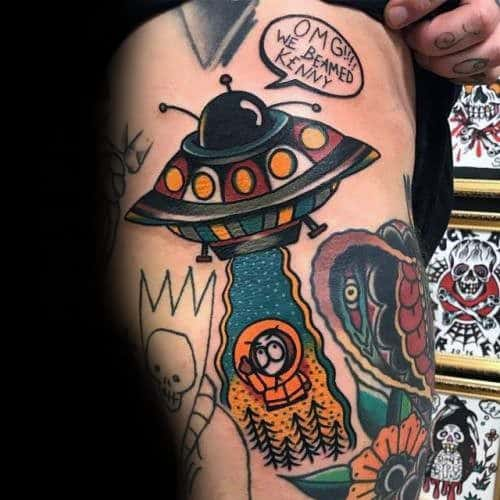 50 South Park Tattoo Ideas For Men - Animated Designs