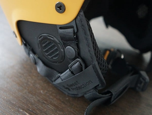 Sweet Protection Switcher Mips Helmet Ear Cover Detail
