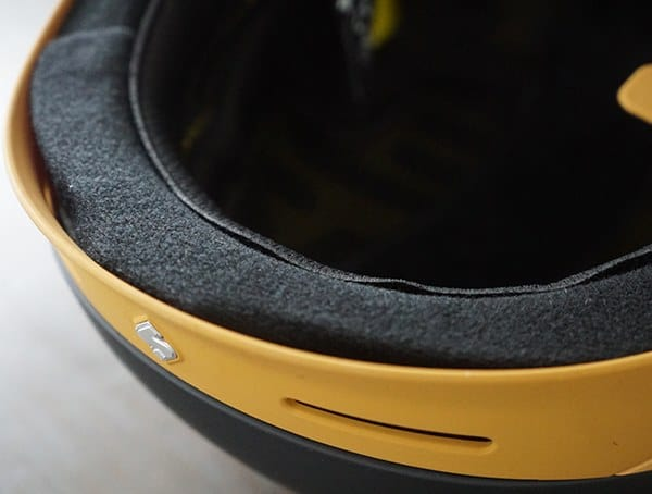 Sweet Protection Switcher Mips Helmet Padding And Brim Detail
