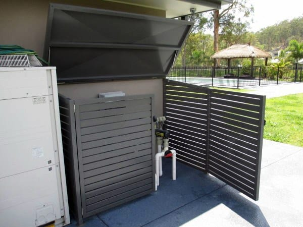 Swimming Pool Filter Enclosures