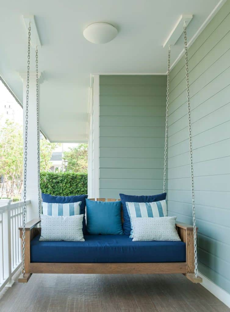 Swing Bench Porch Ideas 1