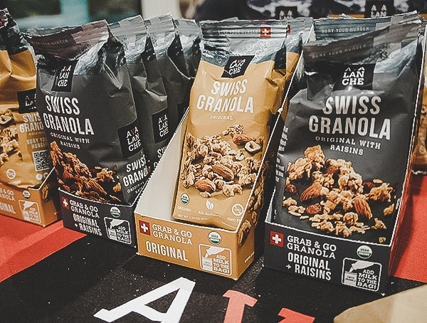 Swiss Granola Hiking And Camping Snack Foods