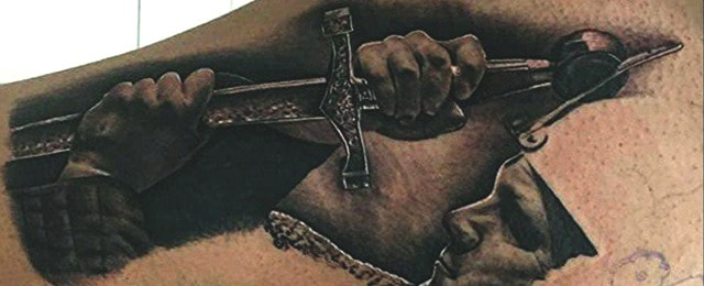 Sword Tattoos For Men