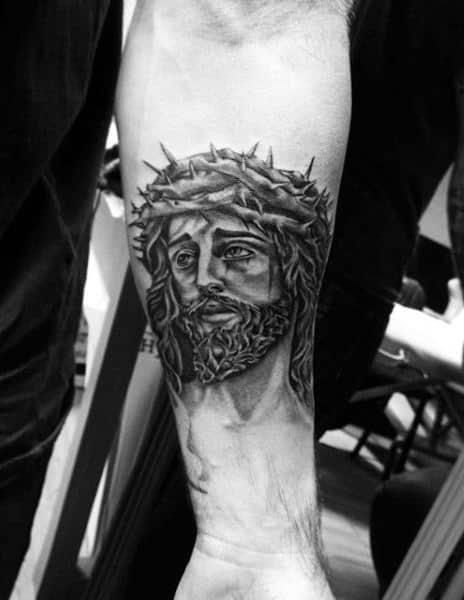 Symbolic Christian Male Tattoo Designs