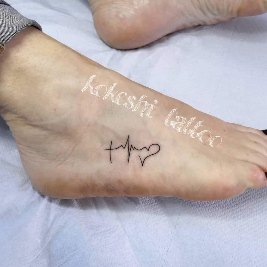 symbolic faith hope love tattoos kokeshitattoo