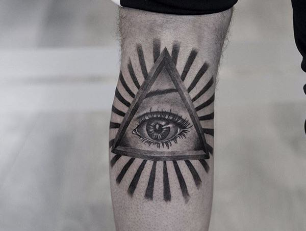 Symbolic Tattoos For Men All Seeing Eye Meaning
