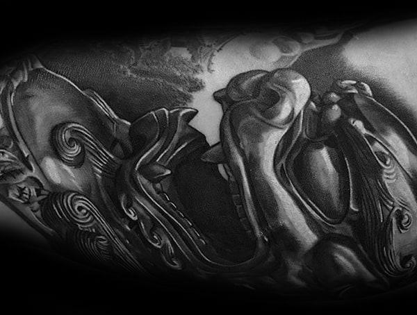 Symbolic Tattoos For Men Fudog Meaning