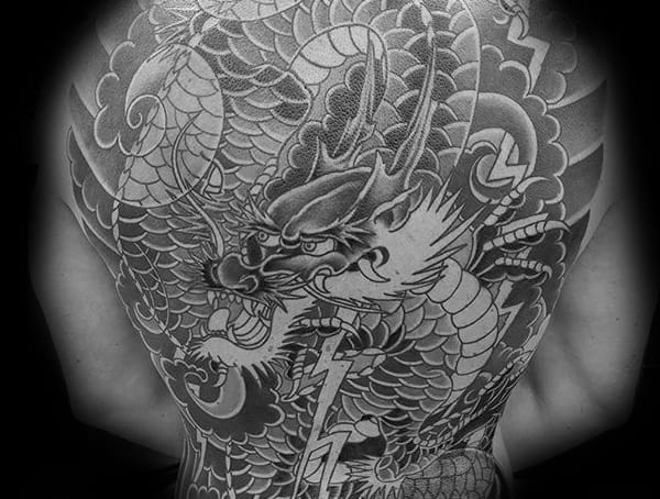 Symbolic Tattoos For Men Japanese Dragon Meaning