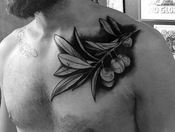 Symbolic Tattoos For Men Olive Branch Meaning