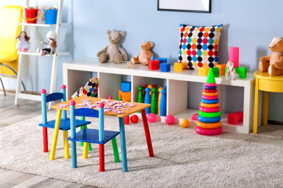 Table And Chairs Playroom Ideas 3