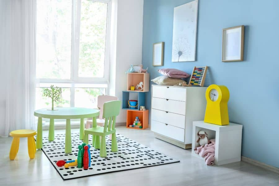 Table And Chairs Playroom Ideas 4