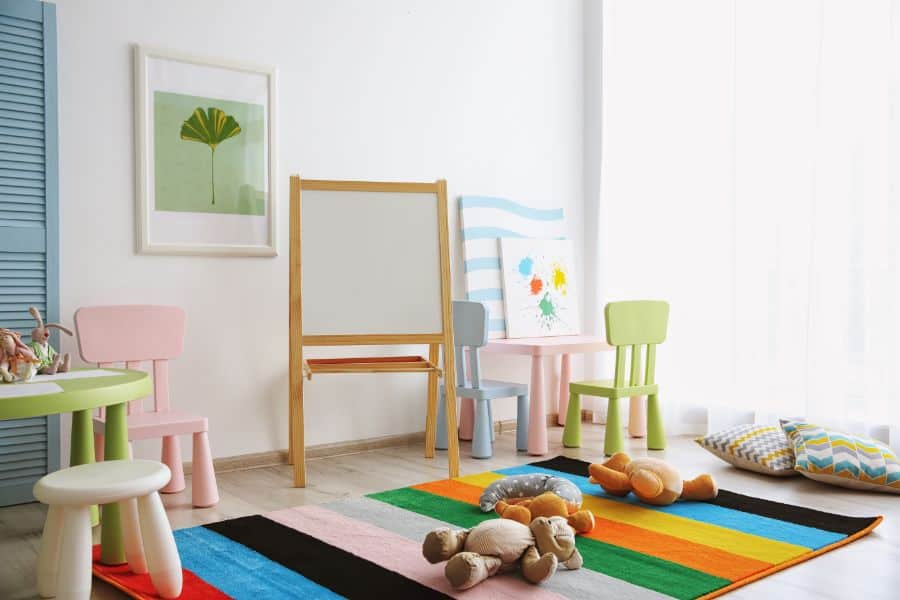 Table And Chairs Playroom Ideas 6