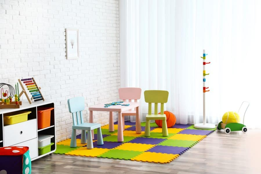 Table And Chairs Playroom Ideas 9