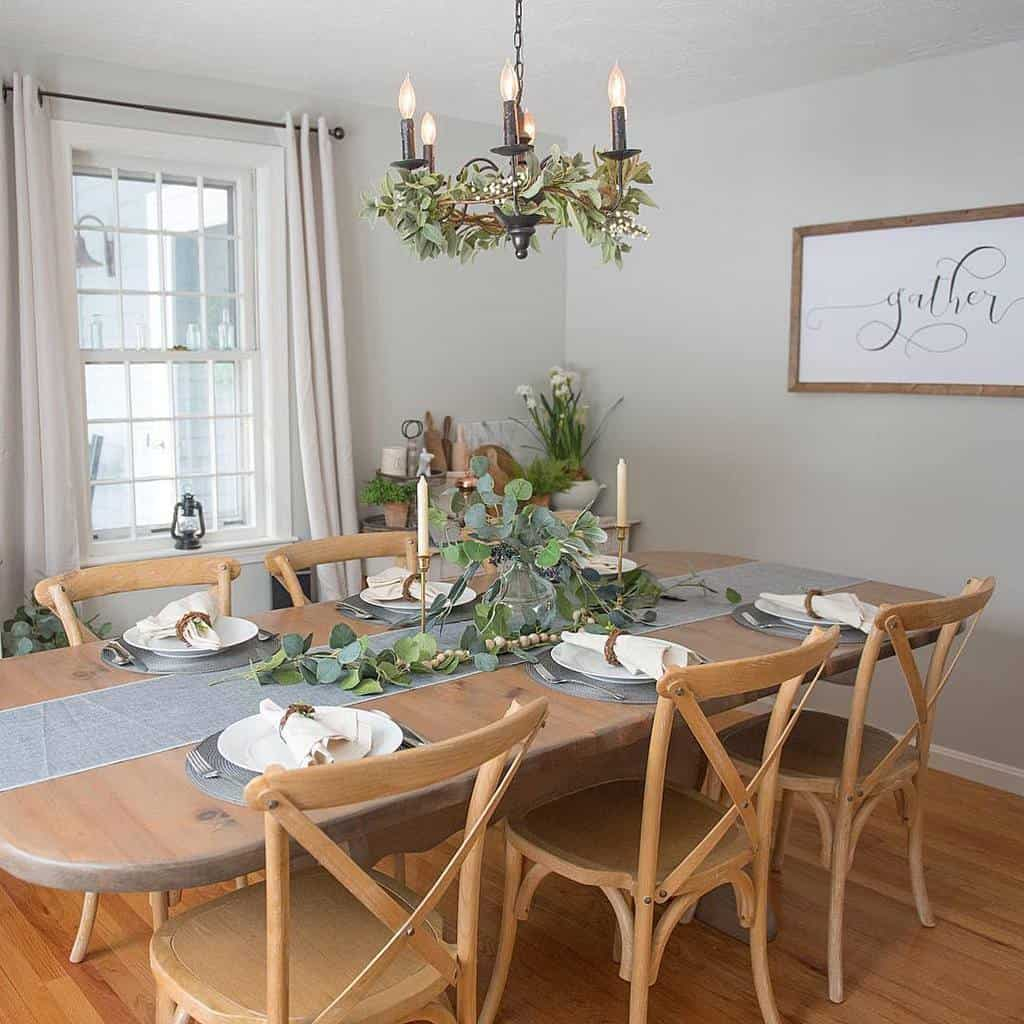 table decor small dining room ideas gracefulfarmhouse