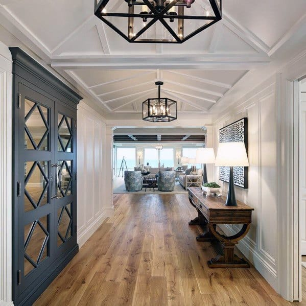 Table Lamps And Chandeliers Hallway Lighting