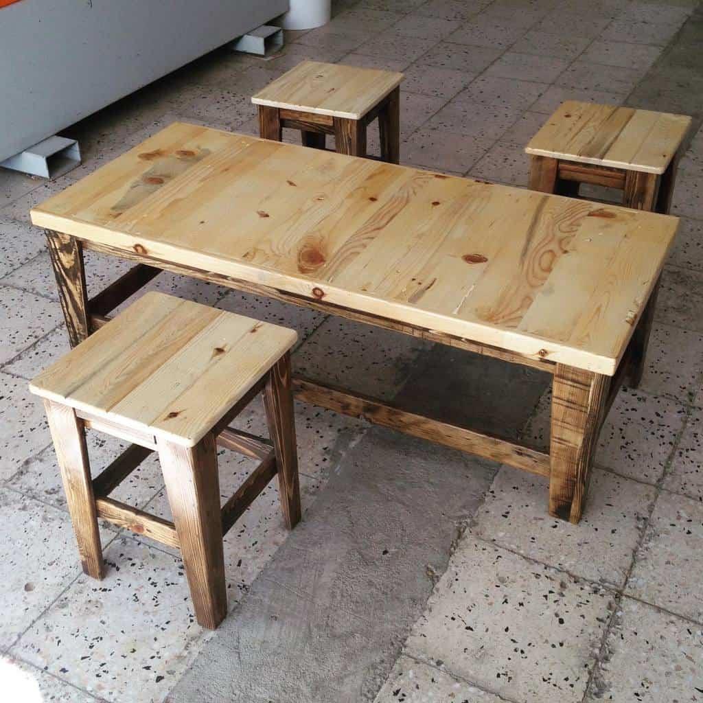 table pallet ideas rustiksivas
