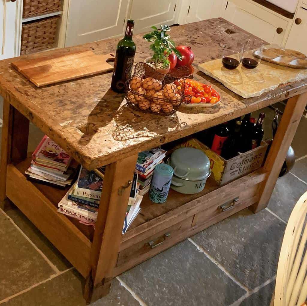 table work bench ideas cliffhillfarmhouse